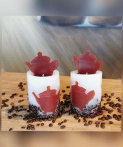 Duftkerze Kaffeekanne
