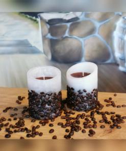 Duftkerze Kaffeebohnen